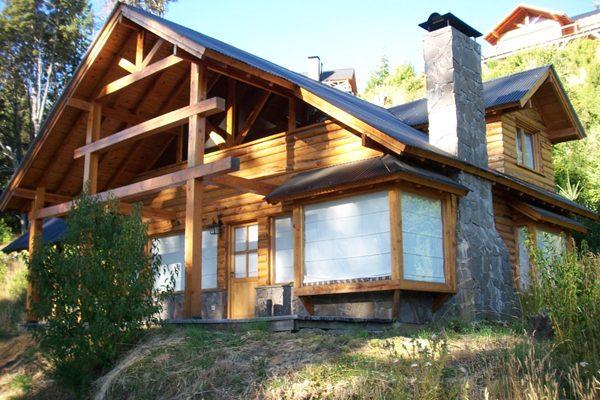 Casa en Península Puerto Manzano a 50 metros de la costa.